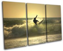 Surfer Sunset Seascape - 13-0961(00B)-TR32-LO